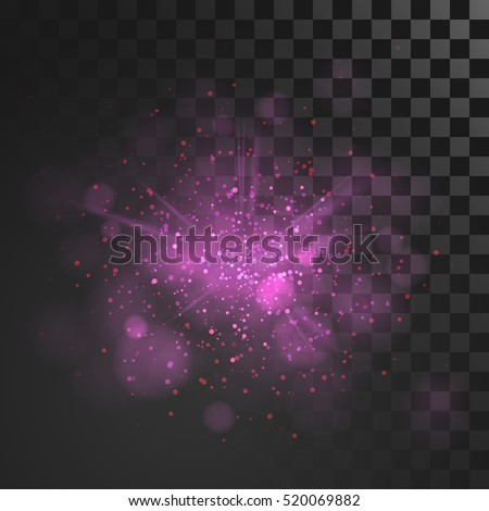 purple dust vector firework
