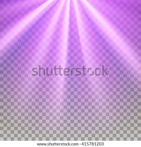 purple flare rays violet