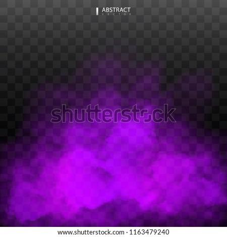 purple fog or smoke color