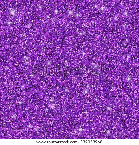 purple glitter seamless pattern