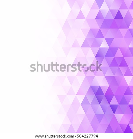 Purple Grid Mosaic Background, Creative Design Templates - Shutterstock ID 504227794