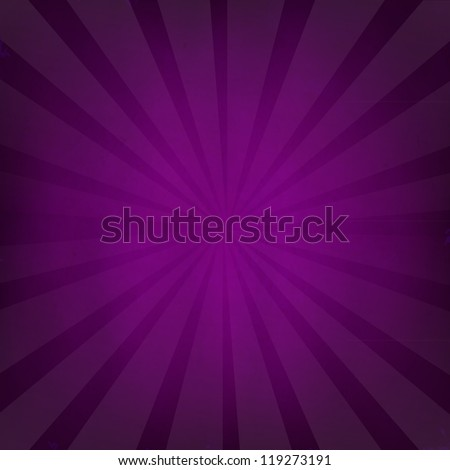 Purple Grunge Background Texture With Sunburst With Gradient Mesh