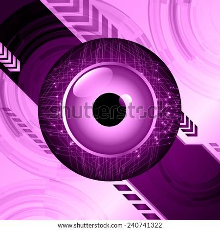 purple light abstract