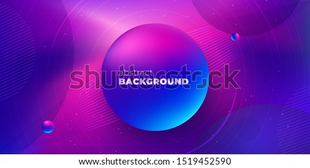 Purple Liquid color background design. Futuristic Gradient. Minimal Pattern. Fluid gradient shapes composition. Futuristic design Brochure. Abstract Geometric Background.
