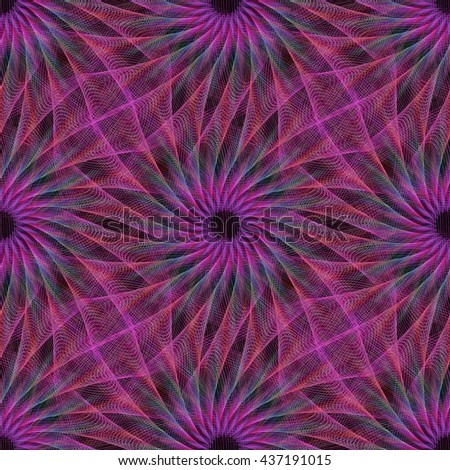purple repeating abstract