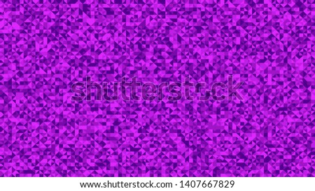 purple triangle mosaic pattern