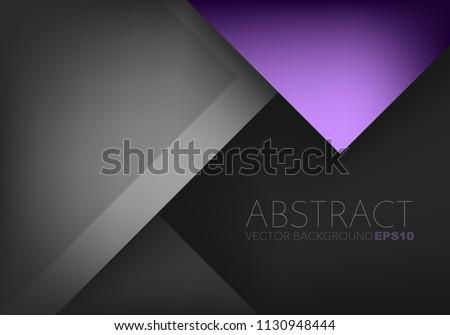 Low Poly Dark Black Background Vector Design Illustration Download