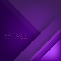 Purple vector background overlap purple layer on purple dark space background for text and message artwork design
