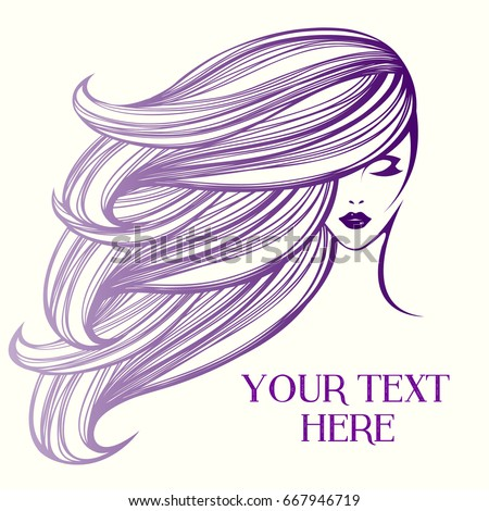 purple vector illustration of a