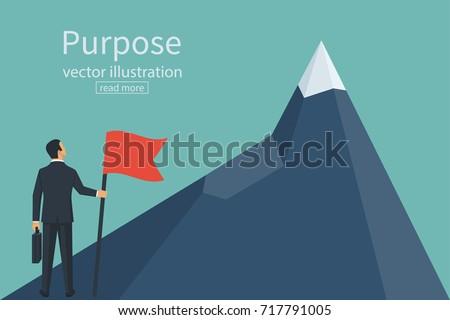 purposeful businessman with...
