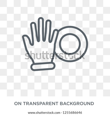 Push all fingers to expand icon. Trendy flat vector Push all fingers to expand icon on transparent background from Hands and guestures collection. High quality filled Push all fingers to expand symbol