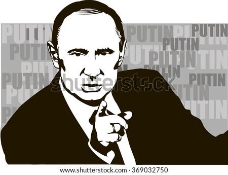 putin  the russian president
