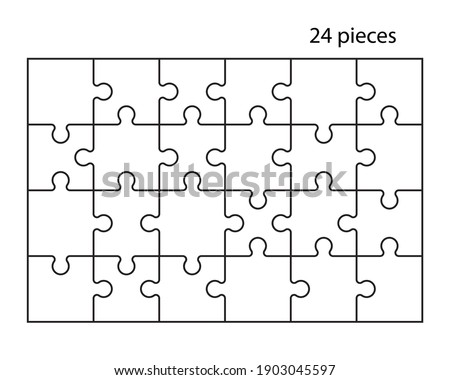 puzzles grid jigsaw puzzle 24