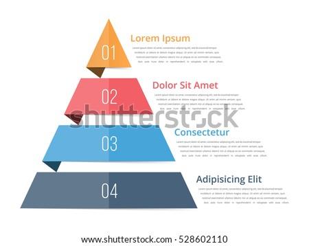 pyramid chart template  pyramid