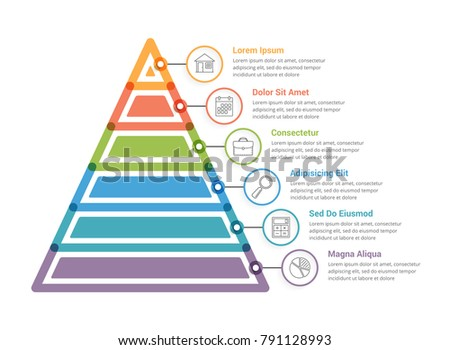 Pyramid Chart Vector - Download Free Vector Art, Stock Graphics & Images