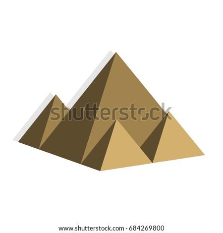 pyramid of egypt illustration