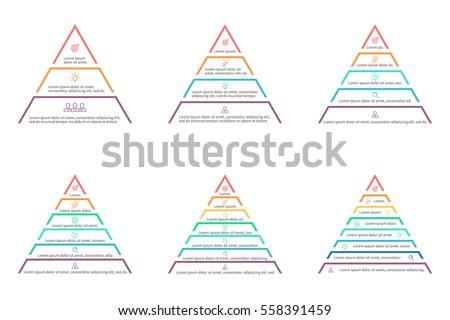 pyramids  triangles for