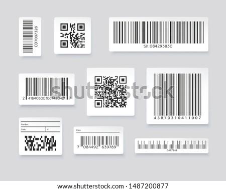 Set Of Barcode Scanner Vector - Download Free Vectors