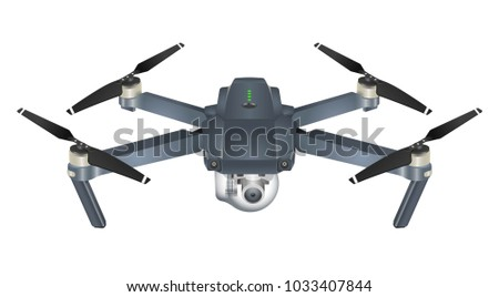 quadcopter 3d vector