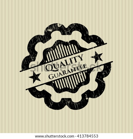 Quality Guarantee rubber stamp