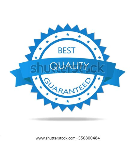 quality guaranteed badge