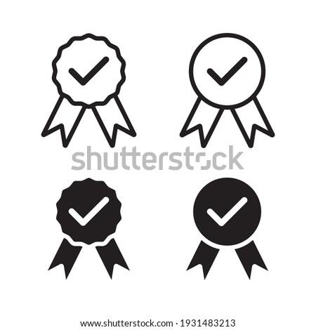 Quality icon. Quality guarantee symbol