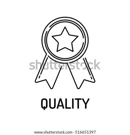QUALITY Line icon