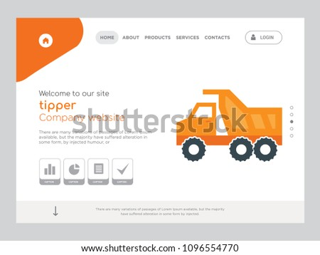 quality one page tipper website