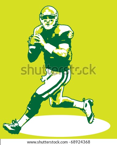Quarterback Illustration