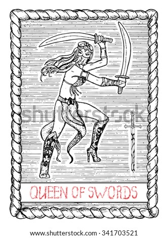 queen of swords the minor