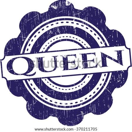 Queen rubber texture