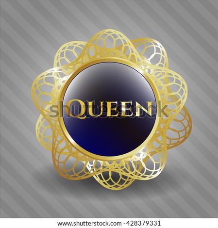 Queen shiny badge