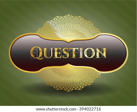 Question gold badge