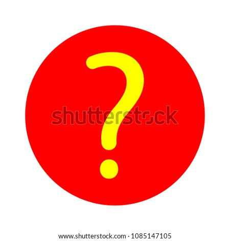 Question mark sign icon. Help symbol. FAQ sign. Vector support concept