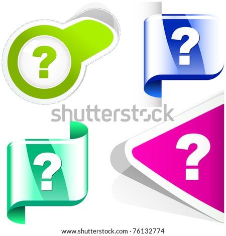 Question vector elements.