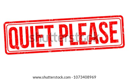 quiet please grunge rubber