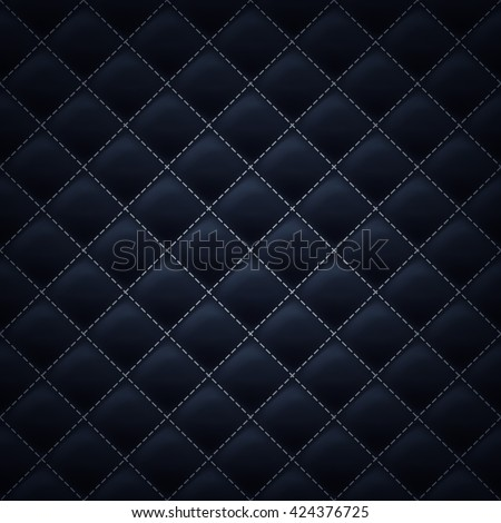 quilted square stitched