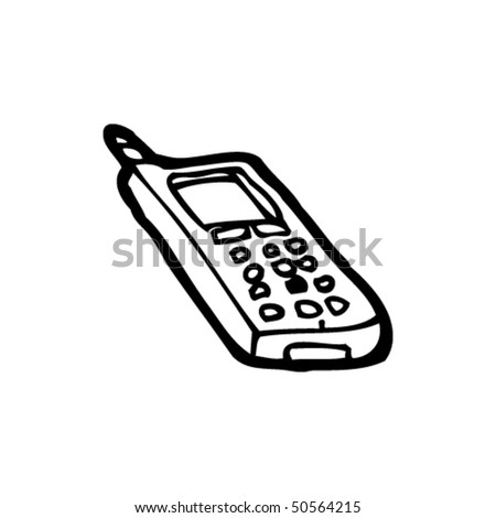 quirky drawing of a mobile