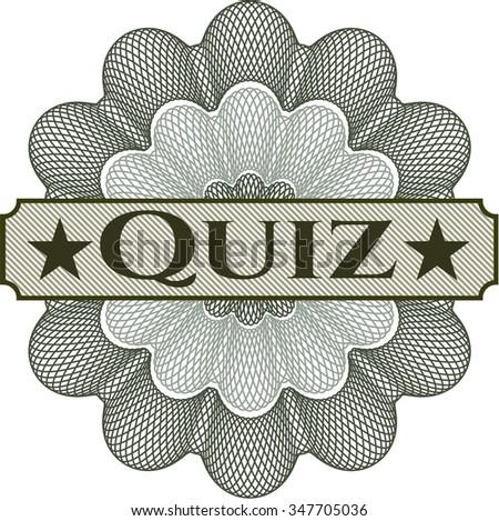 Quiz linear rosette