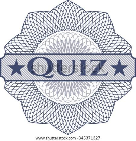 Quiz rosette