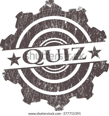 Quiz rubber texture