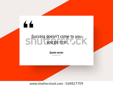 quote background vector