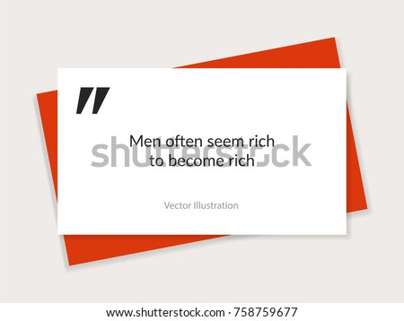 quote background vector text