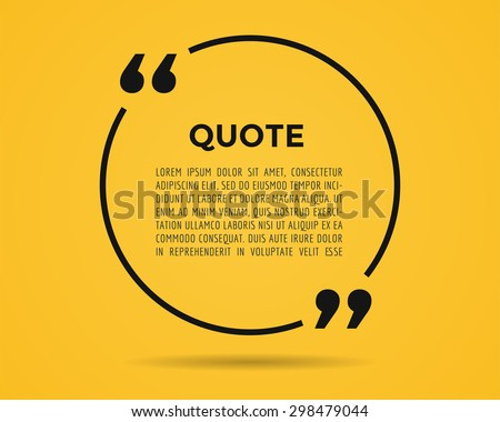 quote blank template quote