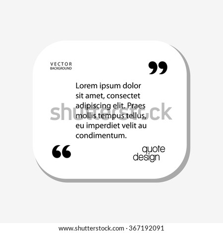 quote for text concept design