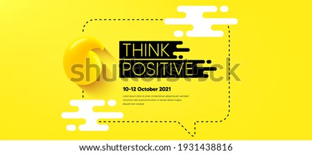 Quote frame template. Chat speech bubble. Think and Speak cloud. Yellow 3d quote icon. Quotation dialogue speech bubble. Conversation talk message balloon. Chat message frame banner. Vector background
