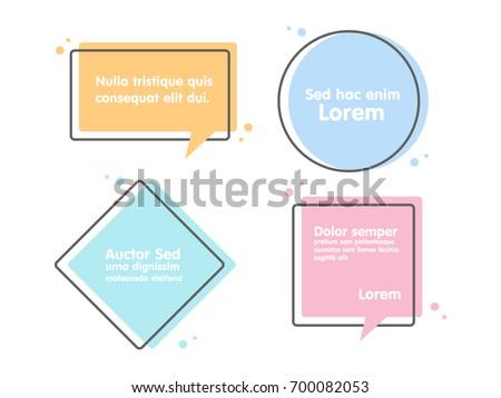 quote text bubble commas  note