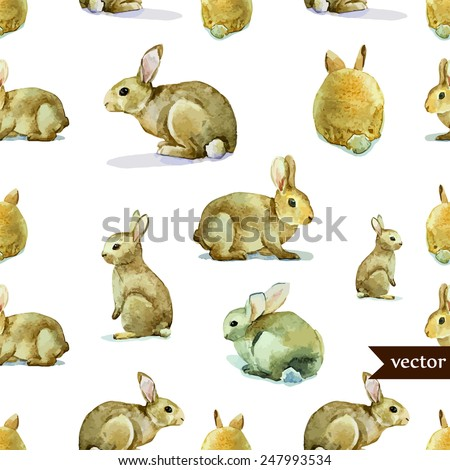 rabbit  hare  pattern