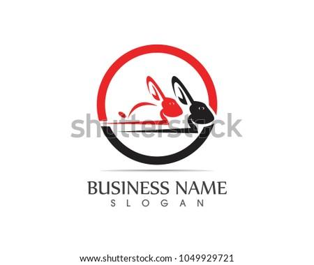 Free Rabbit Logo Vector Download Gratis Vectorkunst En Andere