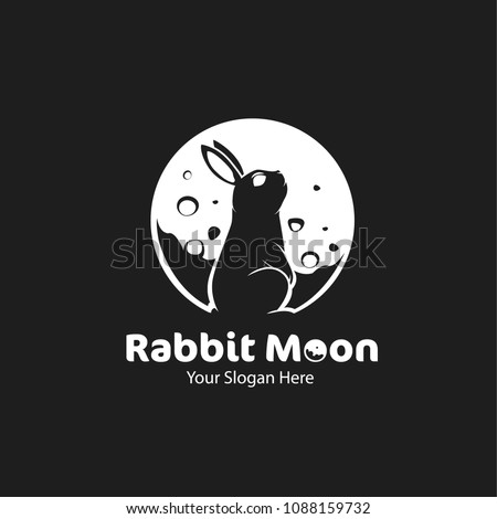 Rabbit moon logo